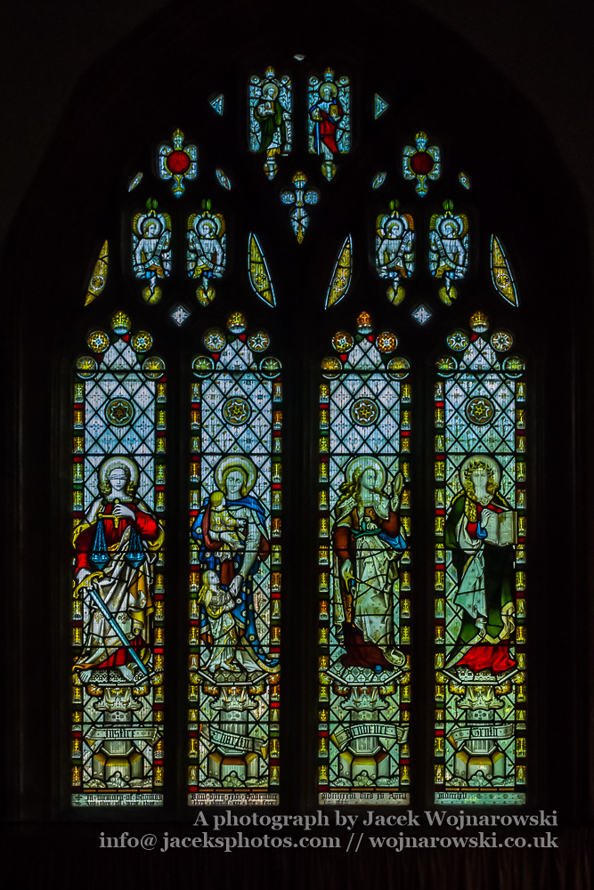 All Saints Church In Langport Stained Glass C Religious